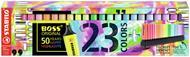Evidenziatore STABILO BOSS ORIGINAL Desk set 50 years - 23 colori assortiti