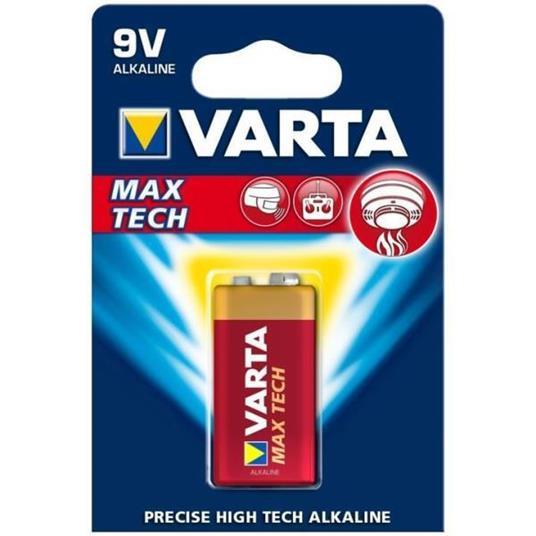Varta MAX TECH Alkaline 9V Alcalino 9V - 8