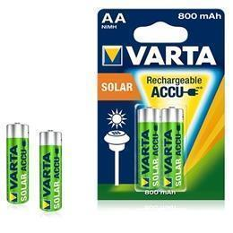 Aa 800Mah Solar Longlife Cf.2 Varta 56736101402 - 9