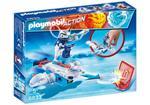 Playmobil Ice-Robot con Space-Jet Lanciadischi (6833)