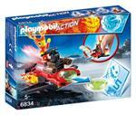 Playmobil Magma con Space-Jet Lanciadischi (6834)