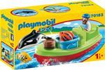 Playmobil 1. 2. 3 (70183). Barca del Pescatore 1. 2. 3