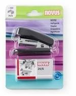 Cucitrice Novus Mini Nero + Punti