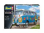 Revell Volkswagen T1 Samba Bus Flower Pow