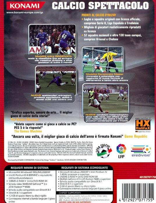 Pro Evolution Soccer 5 - PC - 3
