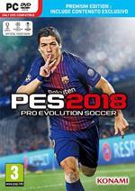 PES 2018 Pro Evolution Soccer Premium Edition - PC