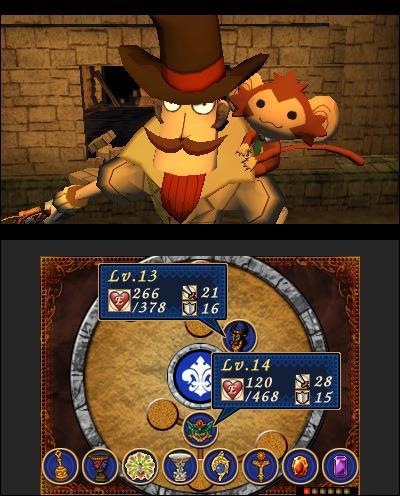 Dr Lautrec e i Cavalieri Perduti - 3DS - 2