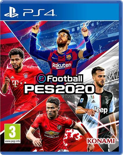 Digital Bros eFootball PES 2020, PS4 videogioco PlayStation 4 Basic