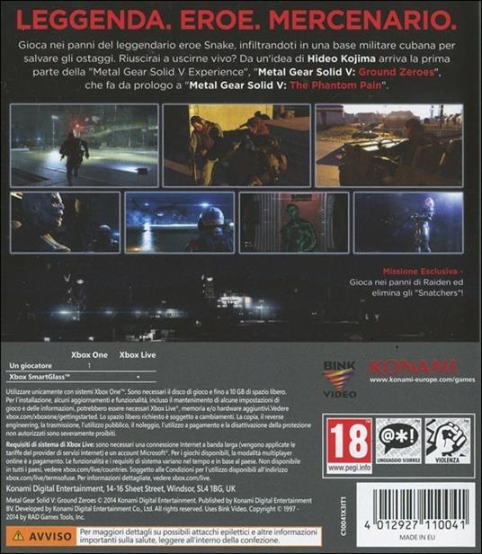Metal Gear Solid V: Ground Zeroes - XONE - 8