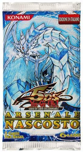 Yu-Gi-Oh! Arsenale Nascosto Busta 5 Carte Foil (It)