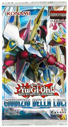 Yu-Gi-Oh! Giudizio della Luce Busta - 8