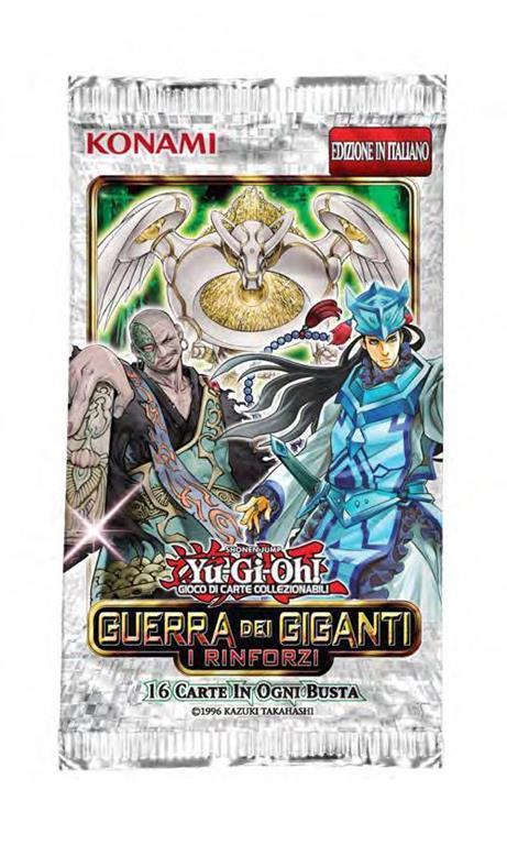 Yu-Gi-Oh! Busta 16 carte Mega Pack. Guerra dei giganti: i rinforzi - ITA