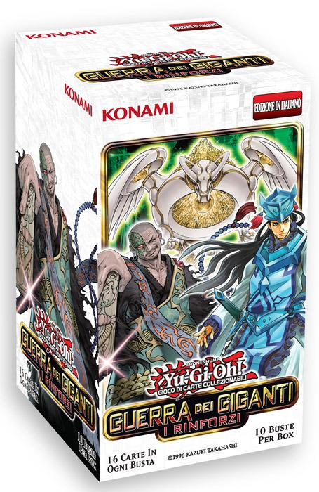 Yu-Gi-Oh! Busta 16 carte Mega Pack. Guerra dei giganti: i rinforzi - ITA - 10