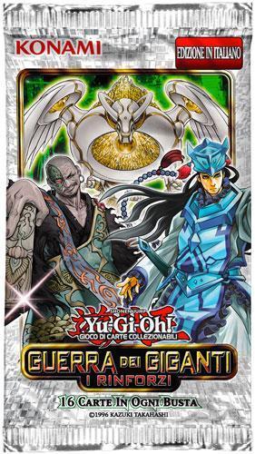 Yu-Gi-Oh! Busta 16 carte Mega Pack. Guerra dei giganti: i rinforzi - ITA - 2