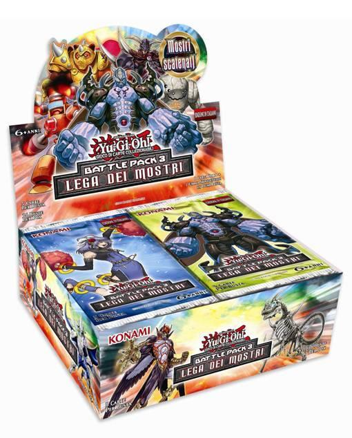 Yu-Gi-Oh! Busta 5 carte Battle Pack 3. Lega dei mostri - ITA