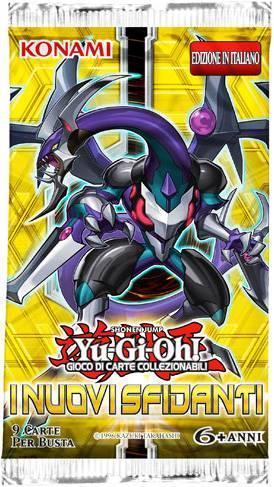 Yu-Gi-Oh! Busta 9 carte I nuovi sfidanti. Espansione - ITA
