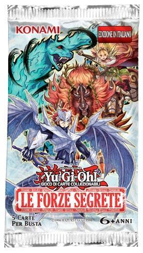 Yu-Gi-Oh! Busta 5 carte Forze segrete. Espansione - ITA