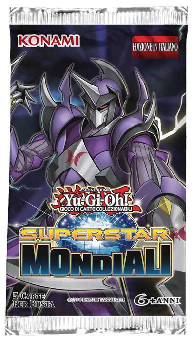 Yu-Gi-Oh! Busta 5 carte Superstar mondiali. Espansione - ITA - 3