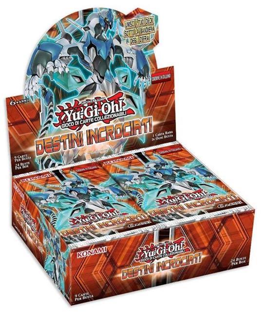 Yu-Gi-Oh! Busta 9 carte Destini incrociati. Espansione - ITA - 3
