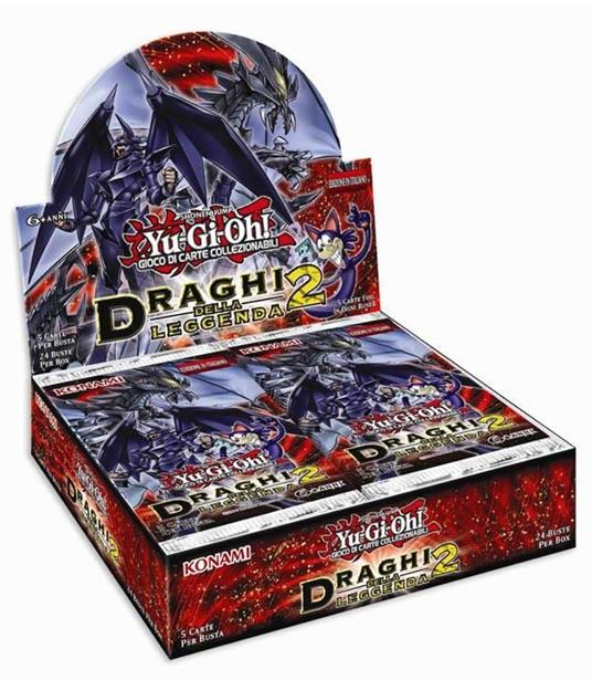Yu-Gi-Oh! Busta 5 carte Draghi della leggenda 2. Espansione - ITA - 4