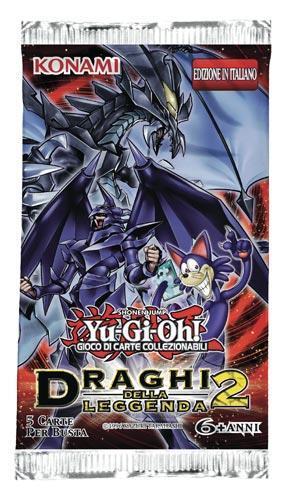 Yu-Gi-Oh! Busta 5 carte Draghi della leggenda 2. Espansione - ITA