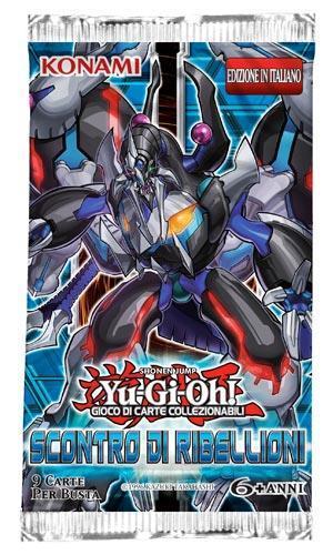 Yu-Gi-Oh! Busta 9 carte Scontro di ribellioni. Espansione - ITA - 9