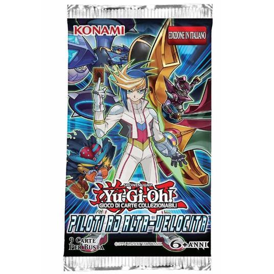 Yu-Gi-Oh! Busta 9 carte Piloti alta velocità. Espansione - ITA - 8