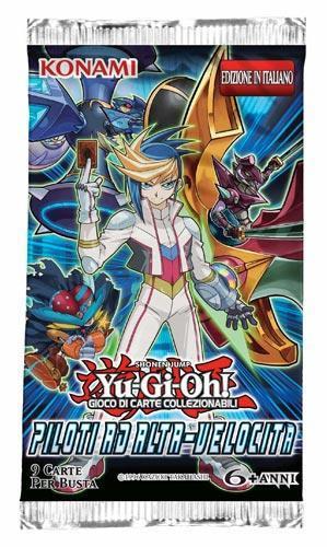 Yu-Gi-Oh! Busta 9 carte Piloti alta velocità. Espansione - ITA - 2