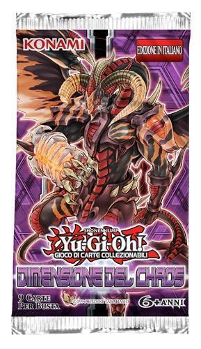 Yu-Gi-Oh! Busta 9 carte Dimensione del Chaos. Espansione - ITA
