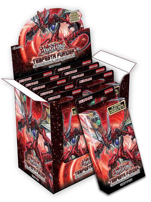 Yu-Gi-Oh! Bustina Tempesta Furiosa Edizione Speciale