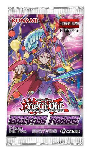 Busta Special 5 Carte Yu-Gi-Oh!. Esecutori Fusione - 3