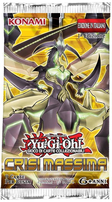 Yu-Gi-Oh! Bustina 9 carte Crisi Massima