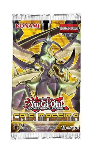 Yu-Gi-Oh! Bustina 9 carte Crisi Massima - 9