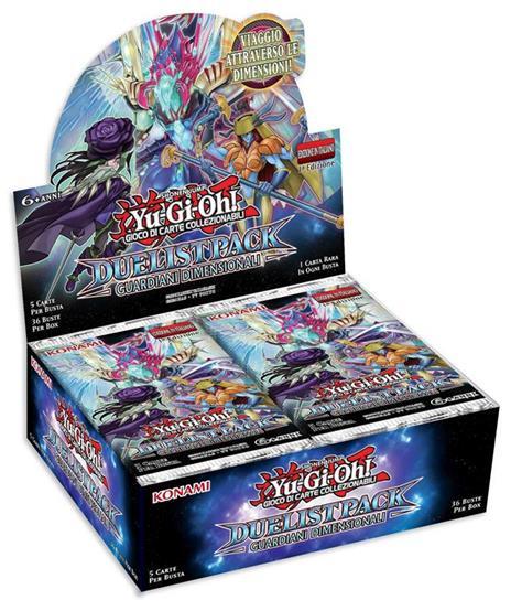 Busta 5 Carte Yu-Gi-Oh!. Duelist Pack Guardiani Dimensionali - 8