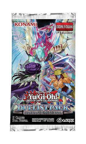 Busta 5 Carte Yu-Gi-Oh!. Duelist Pack Guardiani Dimensionali - 5