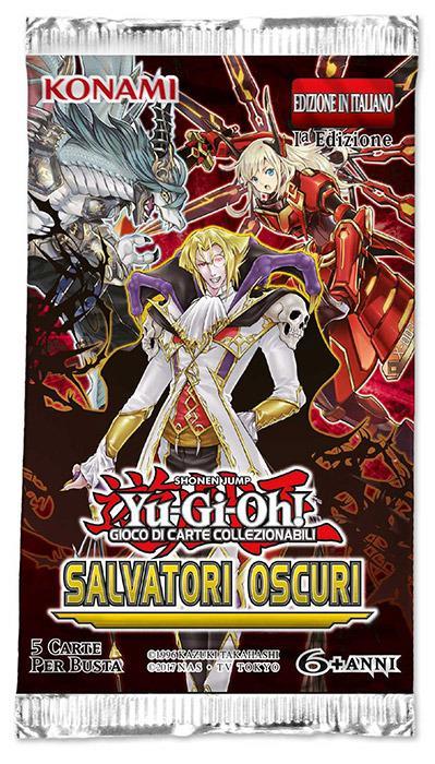 Yu-Gi-Oh! Salvatori Oscuri busta