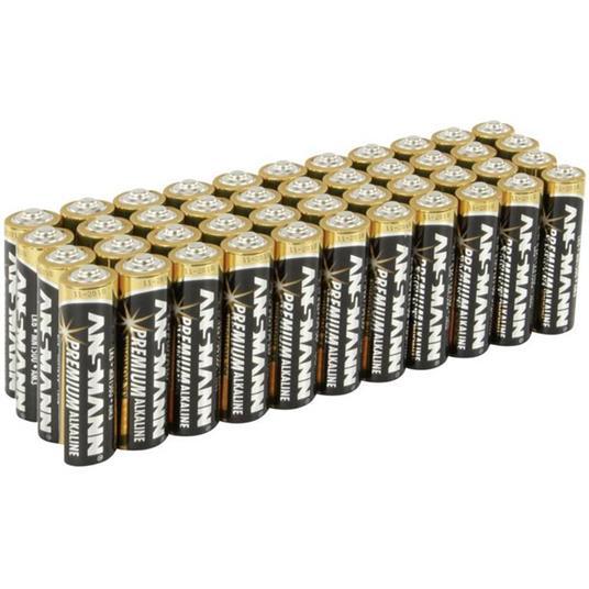 Batteria Ministilo (AAA) Alcalina/manganese Ansmann LR03 1.5 V 44 pz.