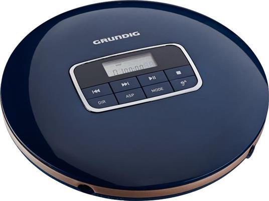 Grundig GCDP 8000 Portable CD player Blu