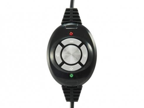 Conceptronic CCHATSTARU2B Stereofonico Padiglione auricolare Nero cuffia e auricolare - 4