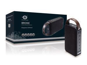 Conceptronic BRONE01B altoparlante portatile 10 W Altoparlante portatile stereo Nero, Bronzo - 2