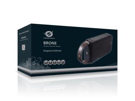 Conceptronic BRONE01B altoparlante portatile 10 W Altoparlante portatile stereo Nero, Bronzo - 3