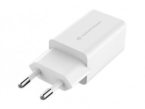Conceptronic ALTHEA06W Caricabatterie per dispositivi mobili Interno Bianco