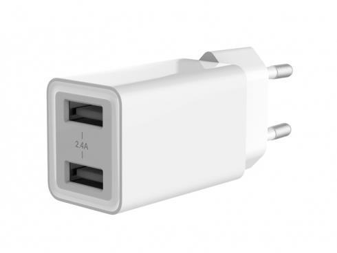 Conceptronic ALTHEA06W Caricabatterie per dispositivi mobili Interno Bianco - 2