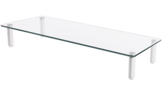 """Digitus DA-90358 supporto da tavolo per Tv a schermo piatto 81,3 cm (32"""") Libera installazione Trasparente"""