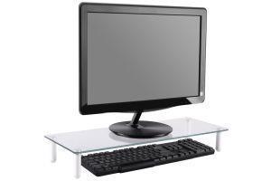 """Digitus DA-90358 supporto da tavolo per Tv a schermo piatto 81,3 cm (32"""") Libera installazione Trasparente - 2"""
