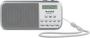 TechniSat TECHNIRADIO RDR Portatile Analogico e digitale Grigio, Bianco