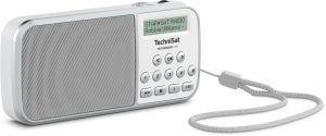 TechniSat TECHNIRADIO RDR Portatile Analogico e digitale Grigio, Bianco - 2