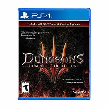 Dungeons 3 Complete Collection PS4 Complete PlayStation 4