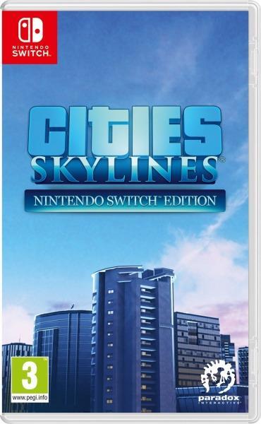 Koch Media Cities: Skylines, Nintendo Switch ESP,ITA