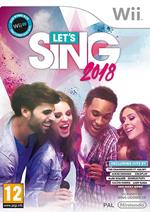 Let's Sing 2018 - Wii
